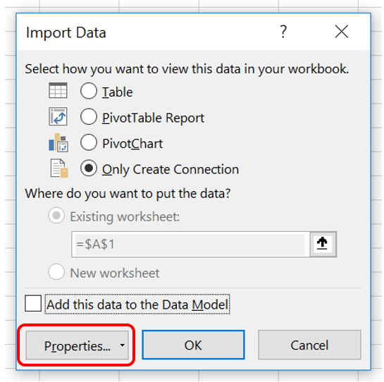 how to connect sql with excel